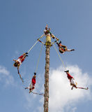 Los Voladores de Papantla Mexico Stock Photo