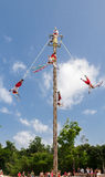 Los Voladores de Papantla Mexico Royalty Free Stock Photography