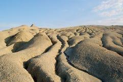 Los volcanes del fango Fotos de archivo libres de regalías