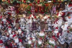 Los Weihnachten Santa Background lizenzfreie stockbilder