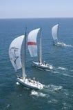 Los yates compiten en Team Sailing Event Fotografía de archivo libre de regalías