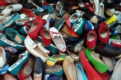 Los zapatos clasificaron calzado Imagen de archivo libre de regalías