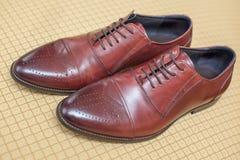 Los zapatos de la boda Foto de archivo libre de regalías
