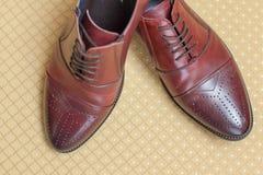 Los zapatos de la boda Fotos de archivo libres de regalías