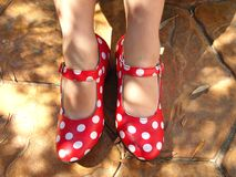 Los zapatos de la danza Imagen de archivo