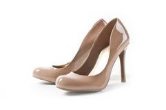 Los zapatos de las mujeres Imagenes de archivo