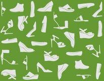Los zapatos de las mujeres Imagen de archivo libre de regalías