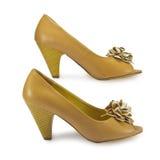 Los zapatos de las mujeres Fotografía de archivo