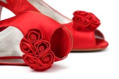 Los zapatos de las mujeres Foto de archivo
