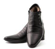 Los zapatos de los hombres Imagen de archivo