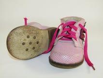Los zapatos de los niños Imágenes de archivo libres de regalías