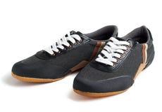 Los zapatos del deporte aislaron Fotografía de archivo