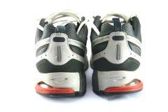 Los zapatos del deporte mueven hacia atrás fotografía de archivo