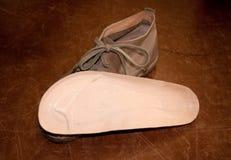 Los zapatos italianos hicieron a mano Foto de archivo