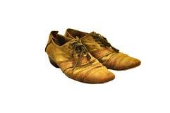 Los zapatos viejos Imagenes de archivo