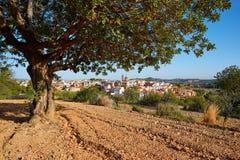 Losa del Obispo by i Valencia Spanien Arkivbilder