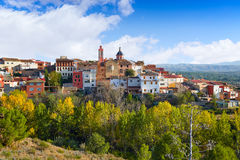 Losa del Obispo by i Valencia Spanien Royaltyfria Foton