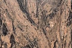Losa pulida del granito Fotografía de archivo