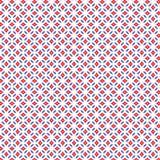 Losange bleu rouge abstrait Diamond Geometric Pattern Fabric Background illustration libre de droits