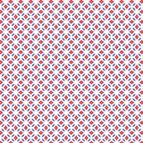Losange bleu rouge abstrait Diamond Geometric Pattern Fabric Background Photos stock