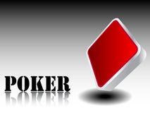 Losange d'élément de casino Photo stock