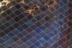 Losange de mur en métal photographie stock libre de droits