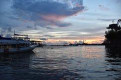 Losari海滩 库存图片