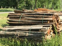 Losas para el granero del tabaco Foto de archivo