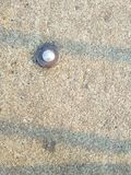 Losas viejas del cemento fotografía de archivo
