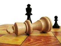 Lose in chess Stock Images