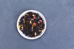 Lose Teeblätter Lizenzfreie Stockfotos