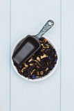 Lose Teeblätter Lizenzfreie Stockfotografie