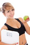 Lose weight Royalty Free Stock Photo