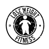Lose weight. Design over white background vector illustration Royalty Free Stock Photos