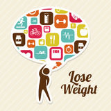 Lose weight Stock Photography