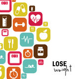 Lose weight Royalty Free Stock Photos