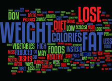 Lose Weight In A Way That S Right For You Text Background  Word Cloud Concept Stock Photos