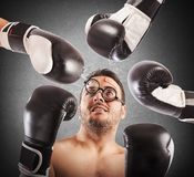 Loser boxer Stock Images