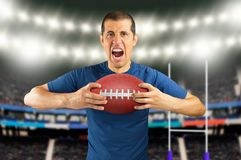 Loser football player Stock Photography