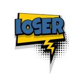 Comic text phrase pop art Damn Stock Image