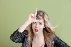 Loser Symbol Royalty Free Stock Photo