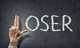 Loser word. Concept image Stock Images