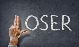 Loser word. Concept image Royalty Free Stock Image