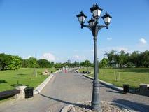 Loshitsa parkerar i Minsk, Vitryssland arkivfoton