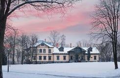 Loshitsa rezydencja ziemska Białoruś, Minsk, 2017 Fotografia Royalty Free
