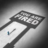 Losing A Job Royalty Free Stock Photo