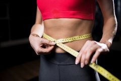 Losing weight Stock Photography