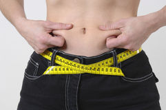 Losing weight Royalty Free Stock Images