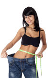 Losing weight. Stock Image