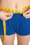 Losing Weight Royalty Free Stock Photos